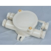 Waterproof junction box 2 + 2 holes