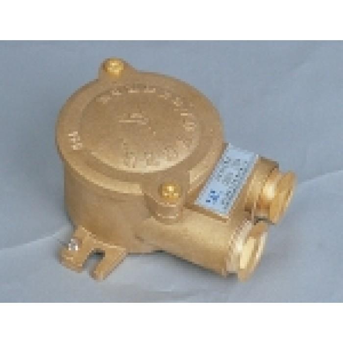 2-hole brass box