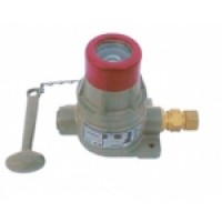Explosive-type fire detection button